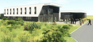 Inauguration du nouveau laboratoire - vue d'architecte