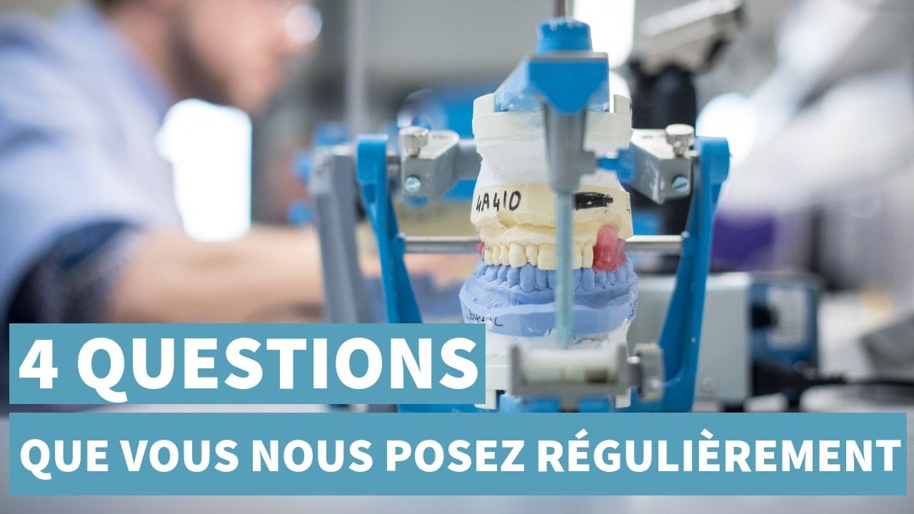 4 Questions Fréquemment Posées à Nos Prothésistes