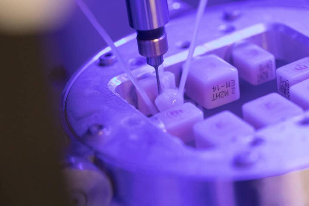 Première céramique dentaire dotée d'une structure à double réseau