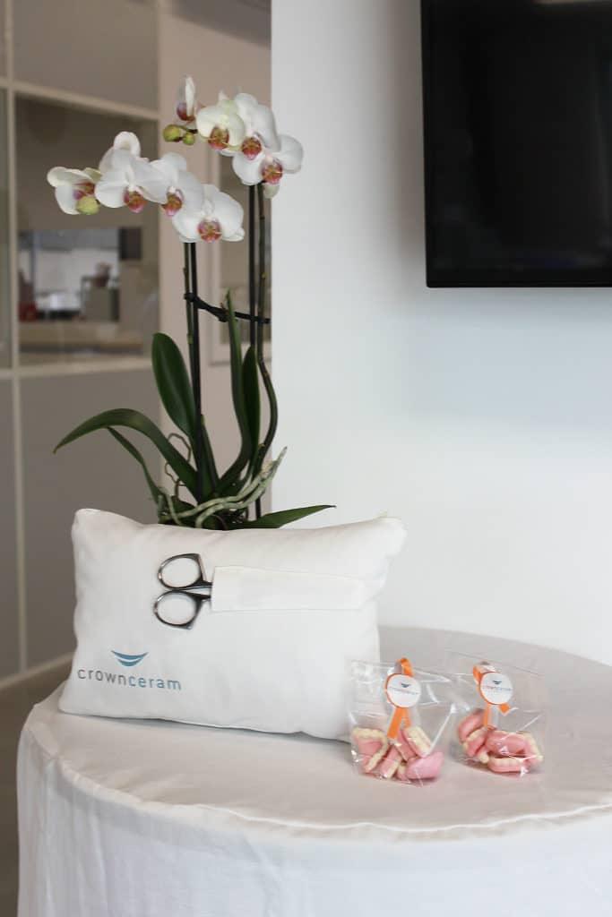 Laboratoire de prothèses dentaires Crown Ceram - Inauguration du nouveau bâtiment