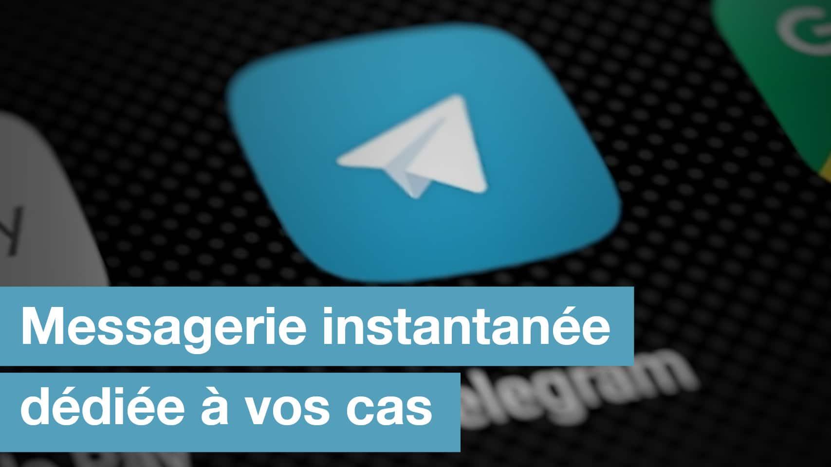 Messagerie Instantanée Telegram